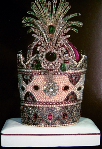 The Kiani Crown of the Qajar Shahs